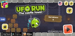 UFO Run: Menu
