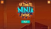 Ultimate Ninja Swing: Menu