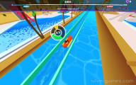 Uphill Rush Slide Jump: Gameplay Sliding