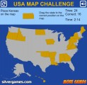 US Map Quiz: Gameplay Usa Map