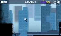 Vector Rush: Gameplay Jumping Running
