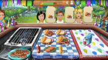 Virtual Families: Cook Off: Burger Milkshake Gameplay