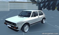 VW Golf Simulator: Golf 1