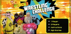 Wack Wrestling Challenge: Menu