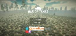 War Of Tanks: Menu
