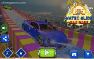 Water Slide Car Race : Menu
