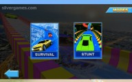 Water Slide Car Race : Stunt Survival Racing