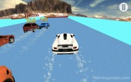 Water Slide Car Race : Gameplay Sliding Car