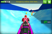 Water Slide Jet Ski Race: Gameplay Snow
