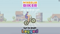 Wheelie Biker: Menu