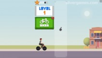Wheelie Biker: Gameplay Wheelie