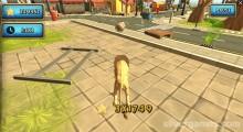 Simulador De Animales Salvajes De Zoo: Lion Gameplay Destroy City