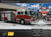 Winter Firefighters Truck: Menu