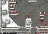 Winter Firefighters Truck: Gameplay Fire Extinghuisher