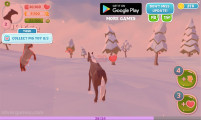 Winter Horse Simulator: Horse Fight