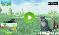 Wolf Vs Tiger Simulator: Menu