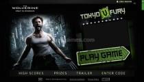 Wolverine Tokyo Fury: Menu