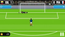 World Cup Penalty: Gameplay Goalkeeper