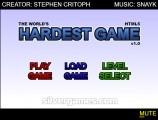 Das Härteste Spiel Der Welt!: Menu