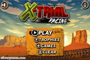 X-Trial Racing: Menu