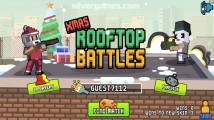 Xmas Rooftop Battles: Menu