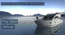 Yacht Parking Simulator: Menu