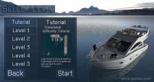 Yacht Parking Simulator: Level Selection Yacht Parking