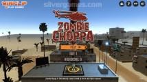Zombie Hubschrauber: Menu