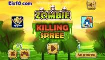 Tuerie De Zombies: Menu