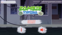 Zombie Typing: Menu
